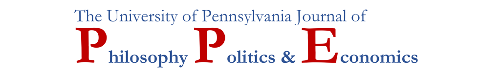 Penn Journal of Philosophy, Politics & Economics