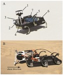Ground robotic measurement of aeolian processes