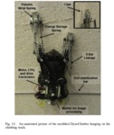A bioinspired dynamical vertical climbing robot