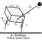 Analytically-Guided Design of a Tailed Bipedal Hopping Robot