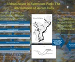 Urbanization in Fairmount Park: The deteriorization of stream beds