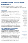 Penn and The Surrounding Community by SWRK 781: Qualitative Research and Rosemary Frasso