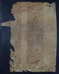 Facsimile of LJS 36, Manuscript leaf from an account of the Jewish Wars