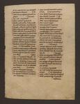 Facsimile of LJS 108, Manuscript leaf from Interpretationes Hebraicorum nominum by Dot Porter