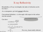 6.1 - Reflections from Sharp Interfaces by Paul A. Heiney